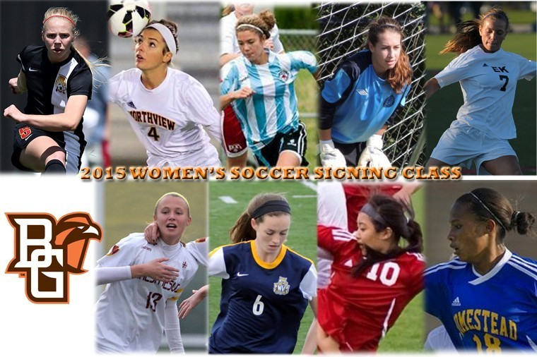 2015 BGSU Women's Soccer Signees